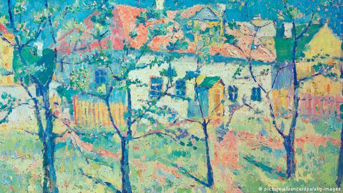 Весна - цветущий сад, Казимир Малевич, 1904