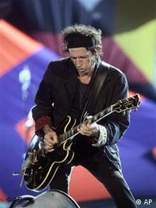 Rolling Stone Keith Richards (Quellle: AP)