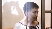 03.03.2016 *** Moskau: Prozess gegen ukrainische Pilotin Nadija Sawtschenko ROSTOV-ON-DON, RUSSIA. MARCH 3, 2016. Ukrainian government army pilot Nadiya (Nadezhda) Savchenko wears a traditional Ukrainian vyshivanka blouse as she appears in court in the town of Donetsk, Rostov-on-Don Region, Russia, charged with involvement in the murder of Russian journalists near Lugansk, east Ukraine. Valery Matytsin/TASS PUBLICATIONxINxGERxAUTxONLY TS018659 Moscow Process against Ukrainian Pilot Rostov ON Don Russia March 3 2016 Ukrainian Government Army Pilot Nadiya Nadezhda Savchenko Wears a Traditional Ukrainian blouse As She appears in Court in The Town of Donetsk Rostov ON Don Region Russia Charged With Involvement in The Murder of Russian Journalists Near Lugansk East Ukraine Valery Matytsin TASS PUBLICATIONxINxGERxAUTxONLY TS018659 © Imago