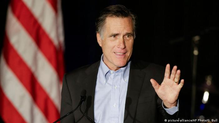 Former US presidential candidate Mitt Romney
