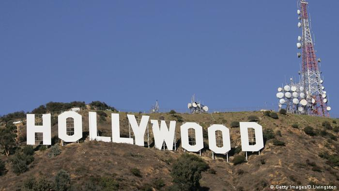 Los Angeles Hollywood Hills Logo Schriftzug (Getty Images/D.Livingston)