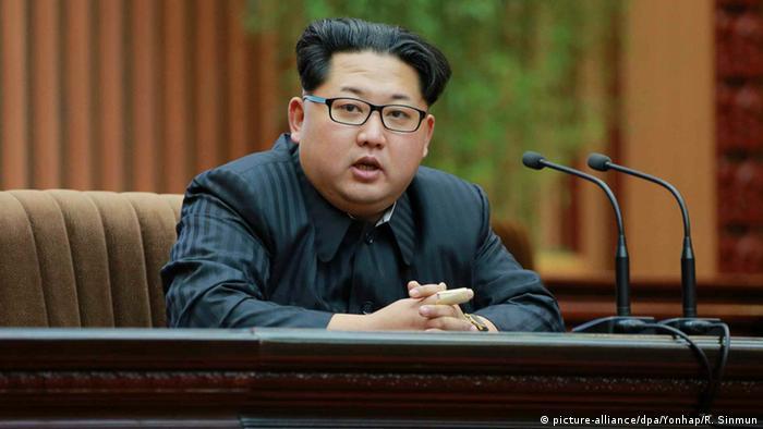 کیم جونگ− اون، رهبر رژیم کره شمالی