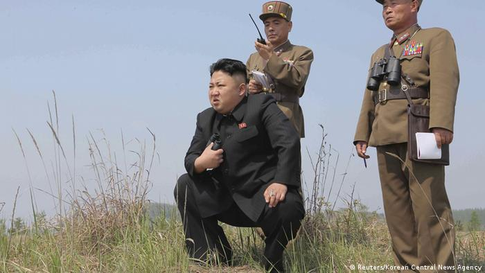 Nordkorea Diktator Kim Jong-un (Reuters/Korean Central News Agency)