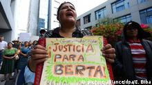 Guatemala Protest nach Mord an Berta Caceres