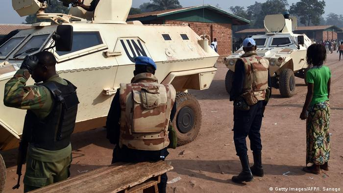 UN peacekeepers in Central African Republic(C) Getty Images/AFP/I. Sanogo