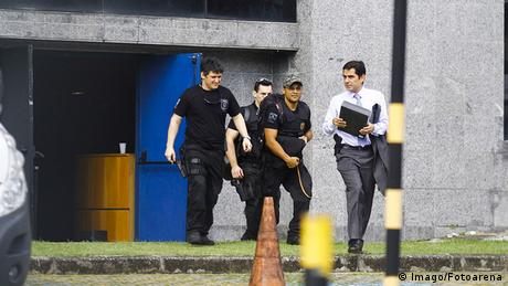 Brasilien Sao Paulo Headquarters of The Federal Police