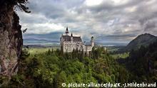 Deutschland Füssen Schloss Neuschwanstein