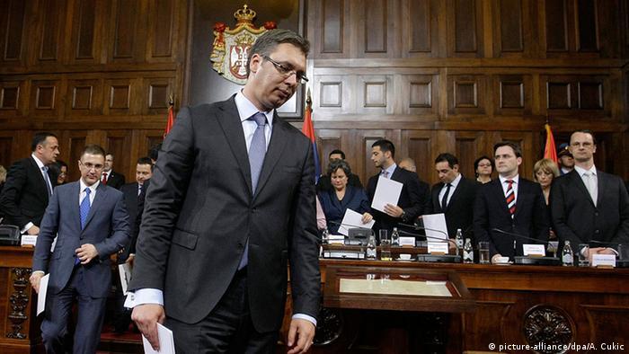 Сербский лидер Александар Вучич