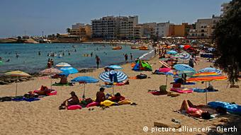 Πολλοί γερμανοί τουρίστες προτίμησαν φέτος τις ισπανικές παραλίες αντί της Τουρκίας