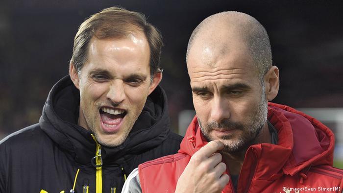 Los entrenadores Thomas Tuchel (Dortmund) y Pep Guardiola (Bayern) protagonizan la final de la Copa Alemana.