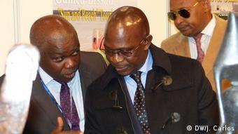 Portugal Lissabon Malam Jaura Tourismusminister von Guinea-Bissau