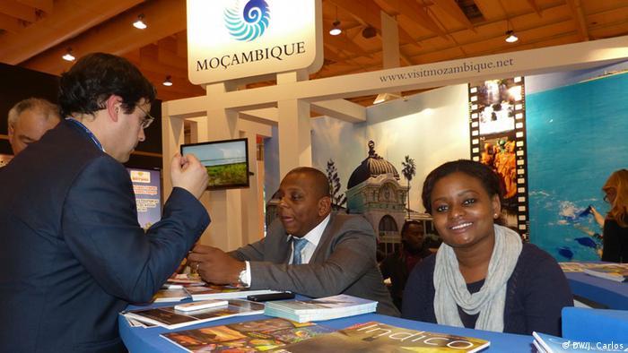 Stand de Moçambique na BTL