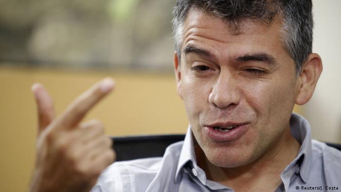 Peru Arequipa Präsidentschaftskandidat Julio Guzman