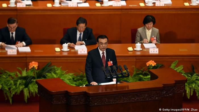 China Nationaler Volkskongress - Premierminister Li Keqiang