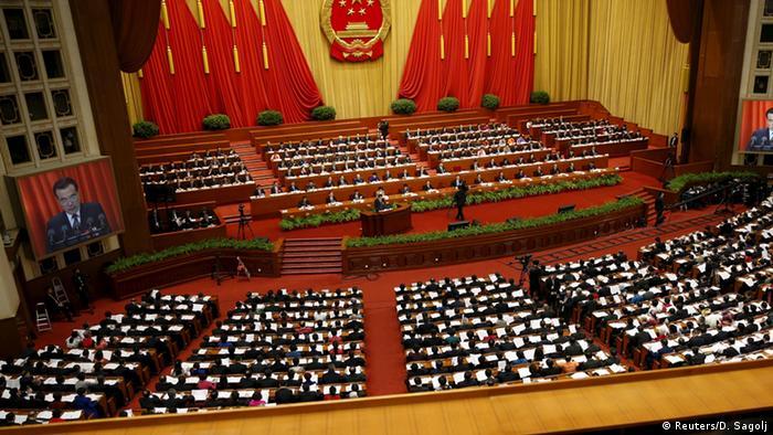 China Nationaler Volkskongress - Premierminister Li Keqiang (Reuters/D. Sagolj)