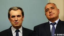 Bulgarien Plamen Orescharski und Boyko Borissov