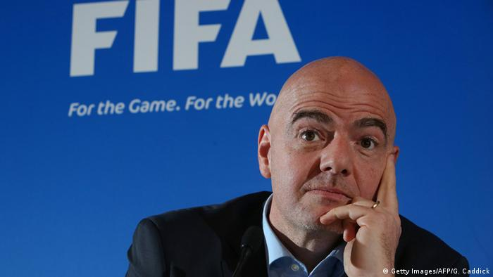 FIFA Präsident Gianni Infantino (Foto: Getty Images/AFP/G. Caddick)