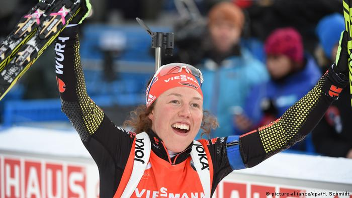 Norwegen Biathlon-Weltcup - Laura Dahlmeier