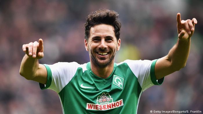 Fussball Bundesliga 25. Spieltag 05.03. 2016 Werder Bremen vs. Hannover 96 (Getty Images/Bongarts/S. Franklin)
