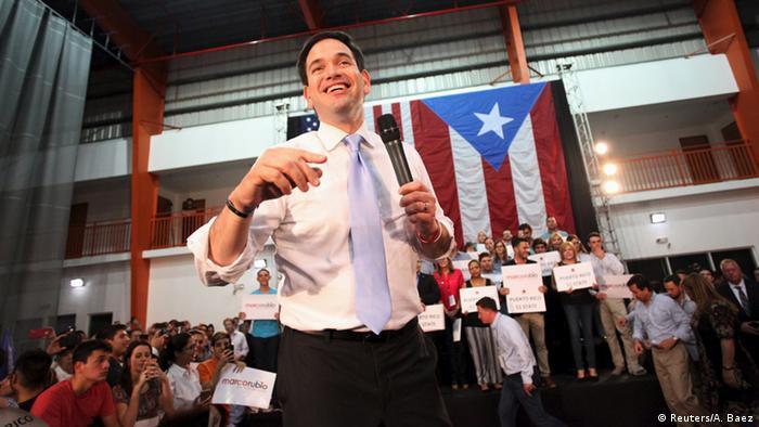 USA Republikaner Wahlkampf Puerto Rico - Marco Rubio