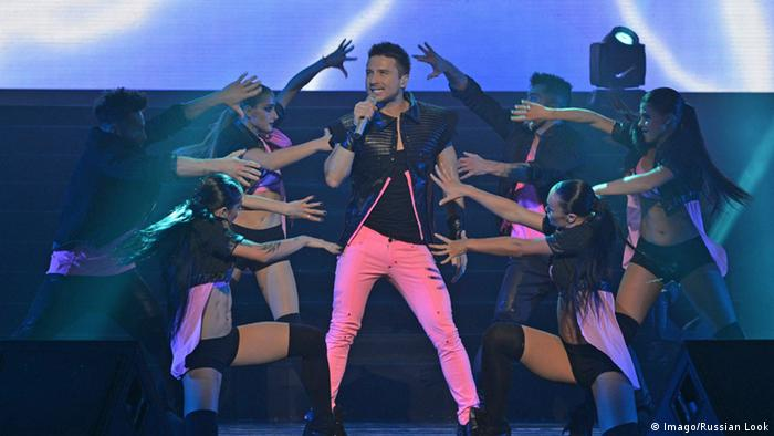 Sergei Lazarev, Russian Singer for Eurovision Song Contest 2016, Copyright: Imago/Russian Look