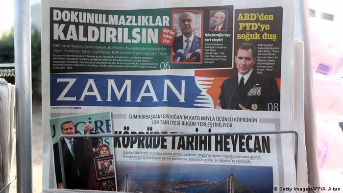 Zaman front page
