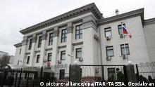 Ukraine Kiew Russische Botschaft Außenansicht