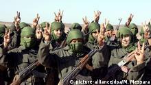 Parade zum 35. Jahrestag der Gründung der Polisario in Westsahara