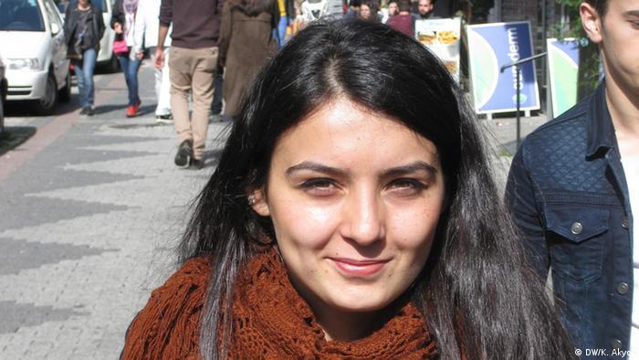 Sinem Sahin Studentin in Istanbul