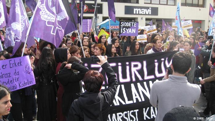 Weltfrauentag in Istanbul
