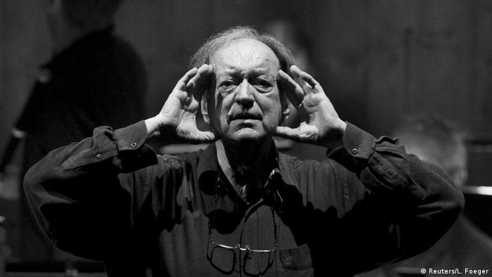 Nikolaus Harnoncourt österreichischer Dirigent (Reuters/L. Foeger)