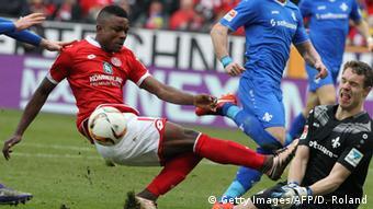 Fussball Bundesliga 26. Spieltag 06.03. 2016 FSV Mainz 05 vs. SV Darmstadt 98