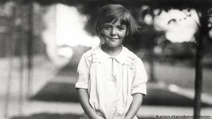 Nancy Reagan aged 6