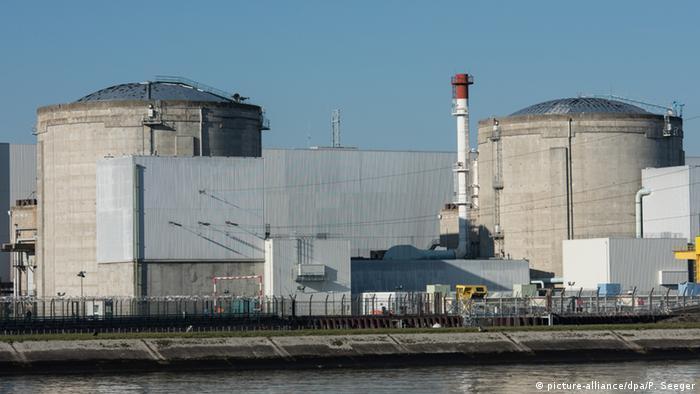 Frankreich Atomkraftwerk Fessenheim picture-alliance/dpa/P. Seeger