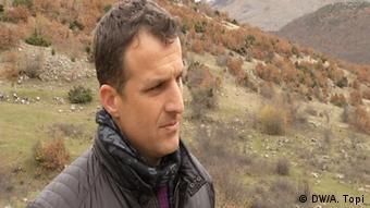Grenzgebiet zwischen Albanien und Griechenland Dorfbewohner