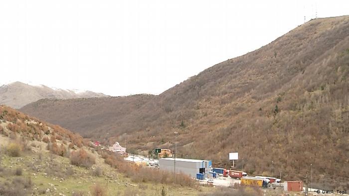 Граница Греции с Албанией