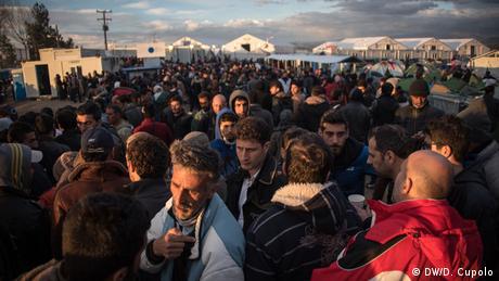 Grenze Griechenland Mazedonien Flüchtlingslager in Idomeni