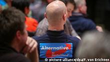Deutschland Mitglied der Partei AfD in Mainz