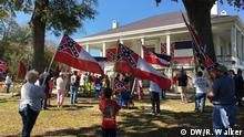 05.03.2016 Confederate Flag Day in Beauvoir (Mississipi, USA); Copyright: DW/R. Walker