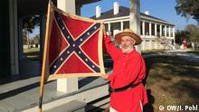 USA Confederate Flag Day in Beauvoir