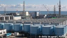Japan Fukushima Daiichi , radiation contaminated water tanks