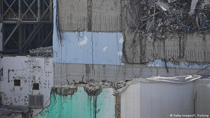 Fukushima damaged reactor 3 (Photo: Getty Images/C. Furlong)