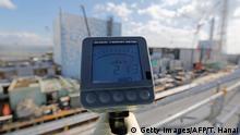 Japan Okuma Fukushima Messgerät 213 micro Sievert per hour