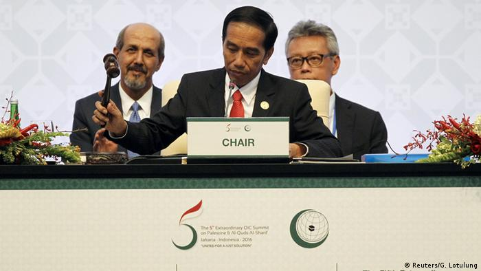 Indonesien OIC Gipfel - Präsident Joko Widodo (Reuters/G. Lotulung)