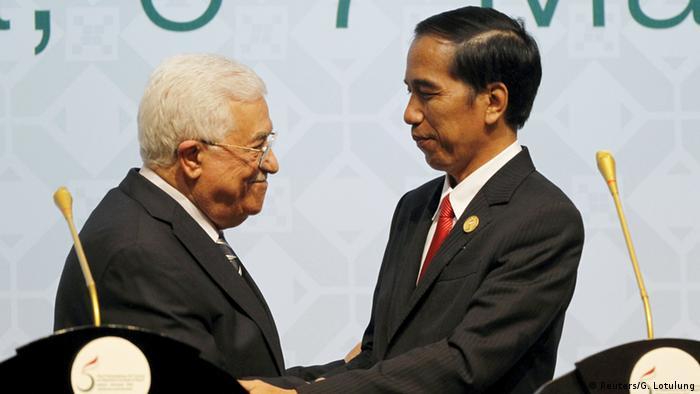 Indonesien OIC Gipfel - Präsidenten Mahmud Abbas & Joko Widodo
