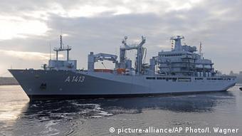 Tο πλοίο «Bonn» στο Αιγαίο