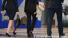 Symbolfoto Frauenanteil in Führungsetagen