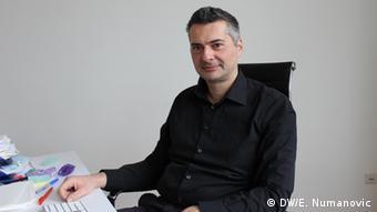 Geschäftsführer von Elnos Vienna - Senad Adanalic