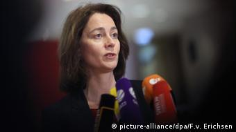 SPD Secretary General Katarina Barley (picture-alliance/dpa/F.v. Erichsen)