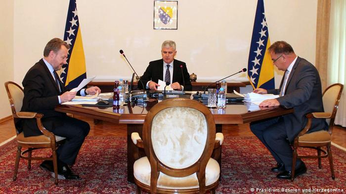 Präsidium Bosnien und Herzegowina Sarajevo
